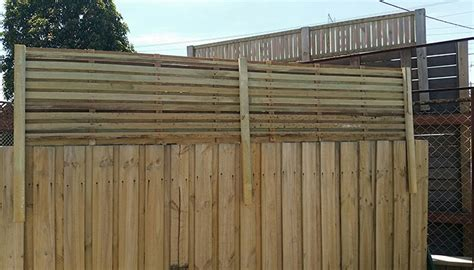 Trellis Fence Extension by 2400 X 500 Hardwood Corral Fence Extension Lattice