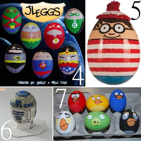 Character Decorated Eggs by 17 Unusual Easter Egg Character Ideas The Scrap Shoppe