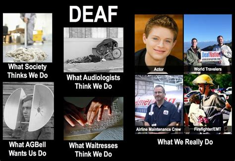 Deaf Memes - signs of life the brownie chronicles the meme what society thinks