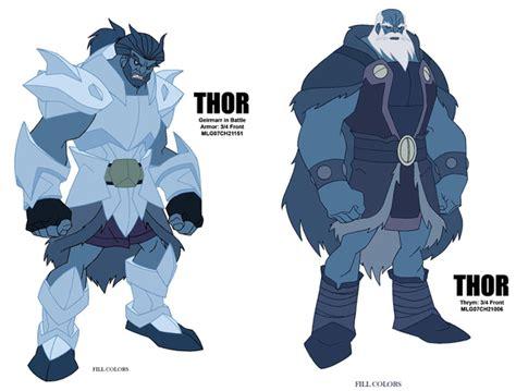 frost giant  thortales  asgard minecraft skin