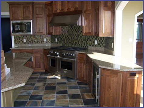 slate floors kitchen home berry ceramic tile stonework 2301
