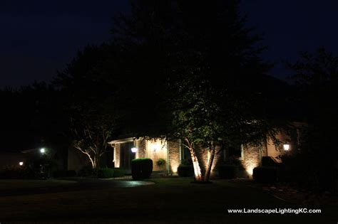 kansas city missouri landscape lighting system installation