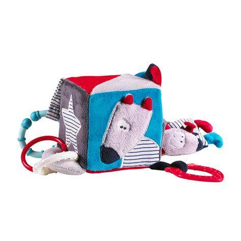 chambre mister bouh jouet d 39 éveil bébé cube d 39 activités mister bouh de sauthon