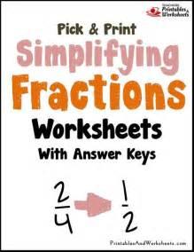 3 grade fraction worksheets simplifying fractions worksheets printables worksheets