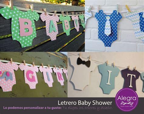 Letrero Banderin Para Baby Shower Personalizado $ 300