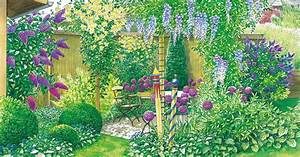 Schöner Sichtschutz Für Den Garten : gestaltungsideen f r einen sitzplatz mit sichtschutz mein sch ner garten ~ Sanjose-hotels-ca.com Haus und Dekorationen