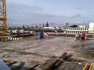 Baustellen tagebuch wir steigen dem modehaus auf39s dach for Dachfl che vermieten