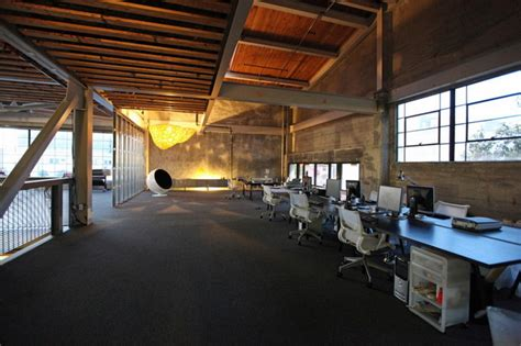 Modern Office Space from a 1940s Warehouse