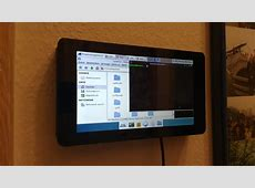 RASPBERRY PI DISPLAY WALL MOUNT 3D PRINTED BY BASTIAN