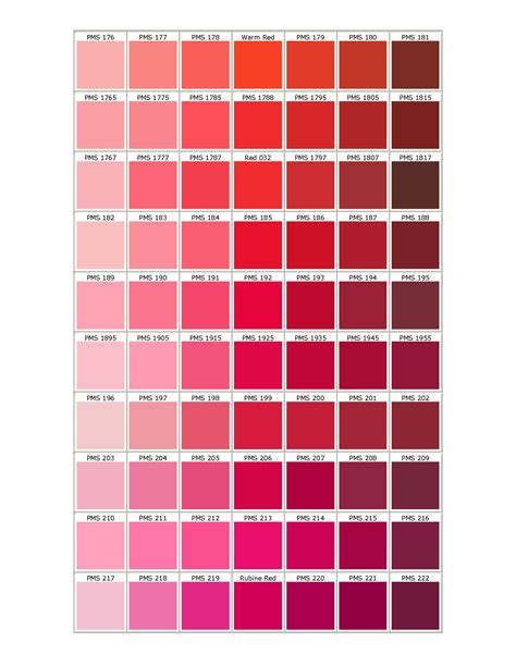 Color Of by Pantone Matching System