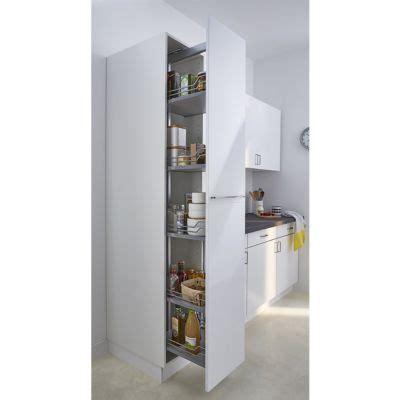 rangement colonne cuisine rangement pour aspirateur et produits d 39 entretien castorama