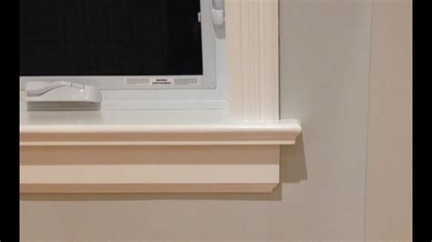 Wooden Window Sill by How To Make Window Sills Apron Woodworking