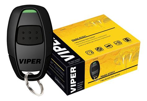 Viper Remote Start System With Interface Module