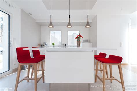 bureau contemporain bois aménagement d 39 une maison moderne et design cuisine