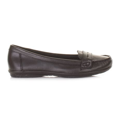 Hush Puppies Ceil Black by Womens Hush Puppies Ceil Black Leather Ceil Loafers