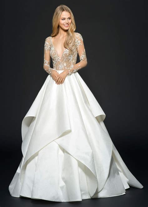 hayley paige fall  collins bridal gown bridal