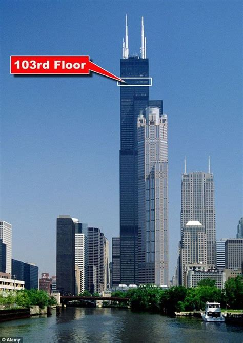 Amazing Balconies Of Willis Tower, Chicago