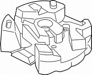 Lincoln Mkz Trunk Floor Storage Box  Rear  Jack  Body