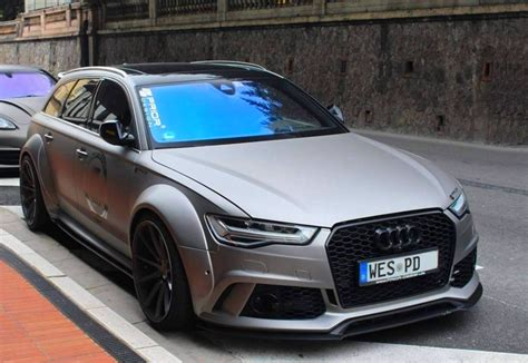 audi rs avant  prior design