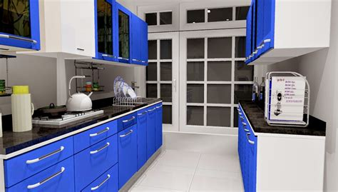 kitchen triangle design with island five basic shapes of modular kitchen designs from