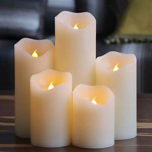 1pcs, Economic, Flameless, Candles, With, Scented, Bougie, Velas, Led, Candle, Lamp, Electronic, For, Home