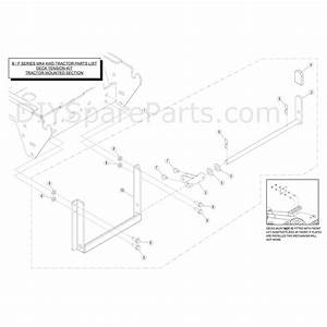 Countax B Series Lawn Tractors  2014  Parts Diagram  Deck
