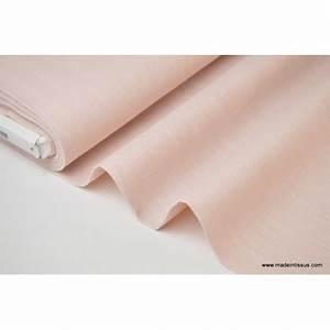 Tissu Rose Poudré : tissu lin lav rose poudr pour confection x50cm made in tissus ~ Teatrodelosmanantiales.com Idées de Décoration