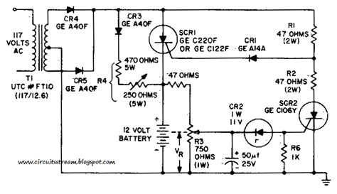 build  battery charging regulator circuit diagram electronic circuit diagrams schematics