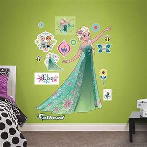 elsa frozen fever fathead wall decals With fathead wall decals