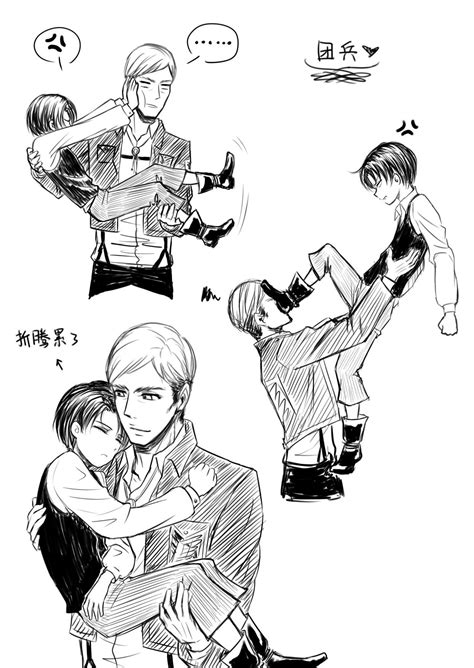Pin By Otaku Levi On Anime X Erwin Smith X Rivaille Levi My Anime World Otaku