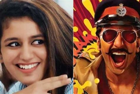 priya prakash varrier first film priya prakash varrier first break in bollywood opposite