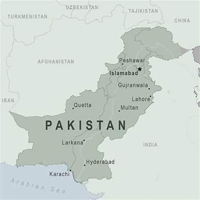 Pakistan Travel Pakistani Map Health Country Cdc