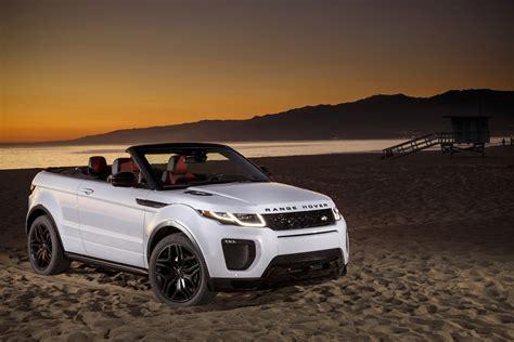 2018 Range Rover Evoque Convertible Review Gtspirit