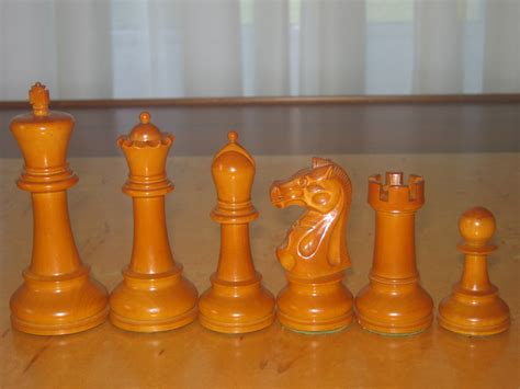 post your vintage staunton chess sets here chess forums