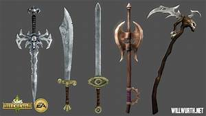 The Sims Medieval - Weapons by DeadXIII on DeviantArt
