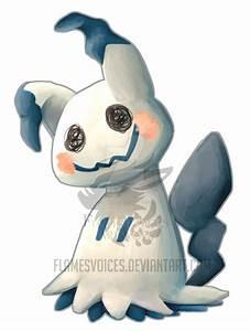 Mimikkyu Pokemon Painting