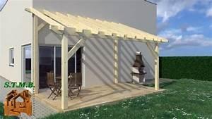 Construire Une Pergola En Bois : pergolas bois en kit pergola de jardin en bois ~ Premium-room.com Idées de Décoration