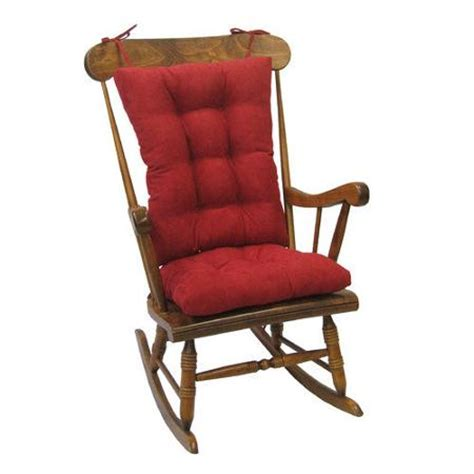 klear vu twillo jumbo rocking chair cushion