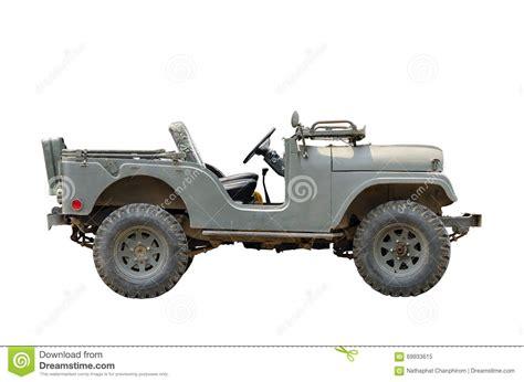 vintage military jeep vintage military vehicles stock image image of iron