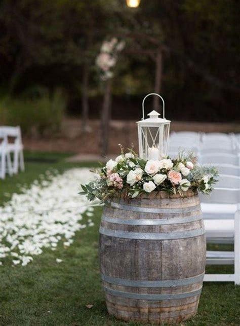 barrels   wedding  ideas outdoor