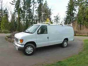 Sell Used 2005 Ford E350 Extended Cargo Van