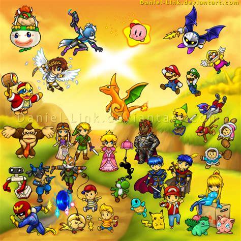 Super Smash Bros Brawl By Daniel Link On Deviantart