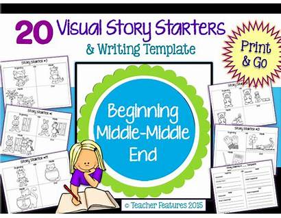 Story Writing Visual Beginning Middle End Starters