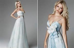 light blue wedding dresses for 2013 onewedcom With light blue wedding dresses