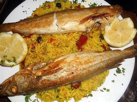 cuisiner le bar entier les meilleures recettes de riz au merlan