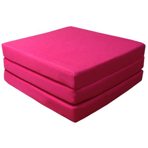 Fold Out Futon by Pink 100 Cotton Fold Out Z Bed Cube Sleepover Guest