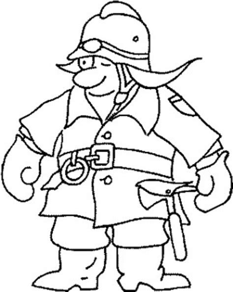 feuerwehrmann helm basteln feuerwehrmann mit helm ausmalbild malvorlage feuerwehr