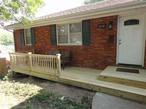 porch deck designs small front porch deck ideas