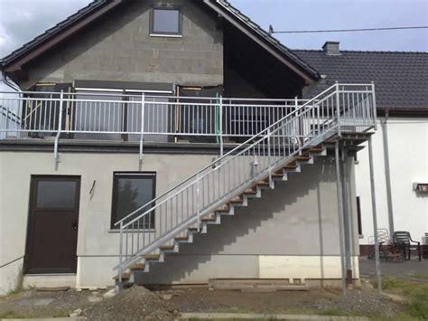 Treppe Für Terrasse by Terrasse Treppe Stahl Wohn Design