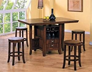table height kitchen island 5pc counter height kitchen island table 5971